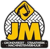 JM Grondwerken · Grondverzet · Straatwerk · Machinistenverhuur